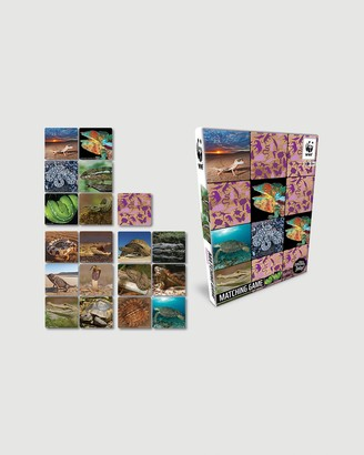 WWF - Pink Nature & Animals - Wildlife Memory Game - Reptiles - Size One Size at The Iconic