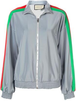 Gucci House web stripe jacket