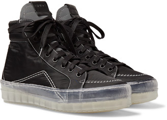 Rhude Rh V1 Shell High-Top Sneakers