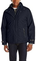 London Fog Men's Canaan Hipster Jacket with Microfleece Bib