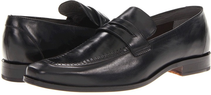 Ted Baker Selip (Black Leather) - Footwear