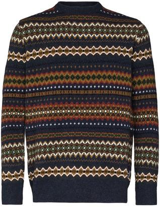 Barbour Fairisle intarsia-knit jumper