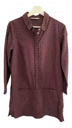 Toast Purple Cotton Dresses