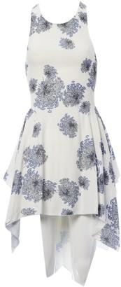 Mulberry White Dress for Women