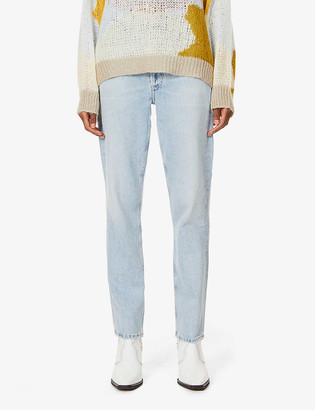 Citizens of Humanity Flavie straight leg high-rise organic cotton jeans
