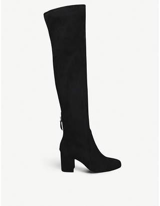 Aldo Winrich faux-suede knee-length boots