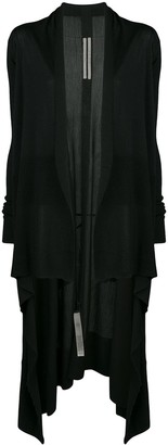 Rick Owens Long Draped Cardigan