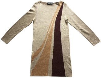 Vanessa Seward Gold Viscose Dresses