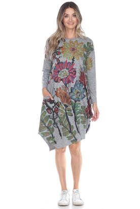 Inoah Floral Lantern Dress