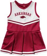 Colosseum Girls Infant Cardinal Arkansas Razorbacks Pinky Cheer Dress