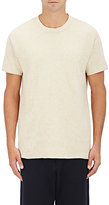 Nlst Men's Heathered Knit Shirt-Light Grey Size Xl