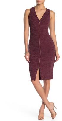 Max & Ash Rib Knit Bodycon Dress