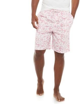 Croft & Barrow Men's Knitted Pajama Sleep Shorts