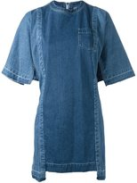 Sacai oversized denim dress