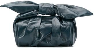 REJINA PYO Bow-Detail Clutch Bag
