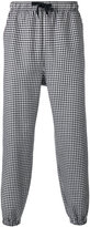 Alexander Wang checked trousers - men - Cotton/Polyester/Wool - 44