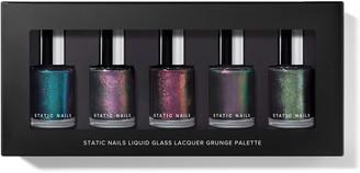 Static Nails Grunge Liquid Glass Nail Lacquer Palette