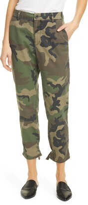 TRAVE Dakota Camo Relaxed Ankle Pants