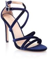 Lipsy Velvet Heeled Sandals