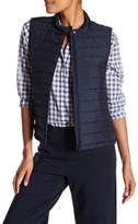 Lafayette 148 New York Lani Quilted Vest