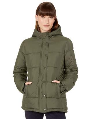 Amazon Essentials Women's Standard Heavy-Weight Hooded Puffer Coat