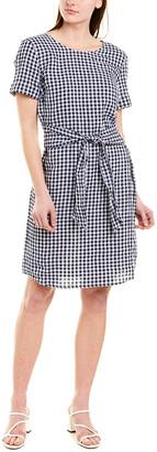 J.Mclaughlin Linen-Blend Sheath Dress