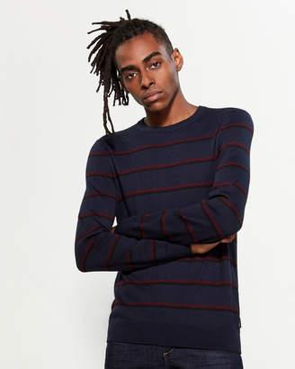 Calvin Klein Contrast Stripe Sweater
