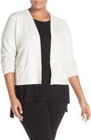Eileen Fisher Plus Size Women's Textured Silk Blend Crop Jacket