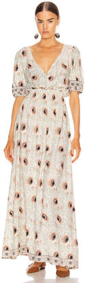 Natalie Martin Laurie Dress in Vintage Flowers Apricot | FWRD