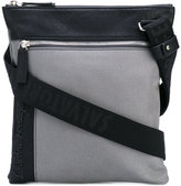Salvatore Ferragamo logo messenger bag - men - Cotton/Leather - One Size