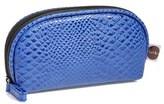 Nordstrom Steph&co. 'Blue Python - Mini' Dome Cosmetics Case