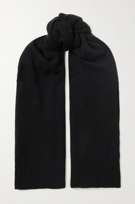 Bottega Veneta Cashmere Scarf - Black