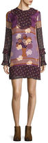 Anna Sui Patchwork Shift Dress