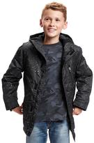 Old Navy Patterned Snowboard Jacket for Boys