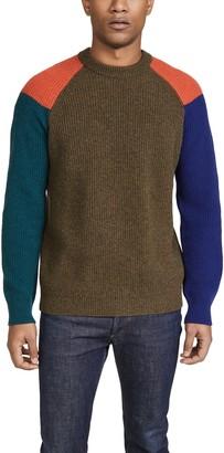 Paul Smith Raglan Sleeve Cotton Sweater