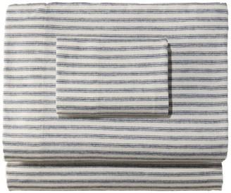 L.L. Bean L.L.Bean Ultrasoft Comfort Flannel Sheet Set, Stripe