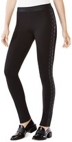 BCBGMAXAZRIA Jaims Lace Up Leggings
