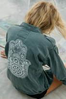 Spiritual Gangster Henna Hamsa Jacket
