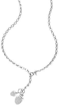 Tamara Comolli Signature 18K White Dual-Clasp Lariat Necklace