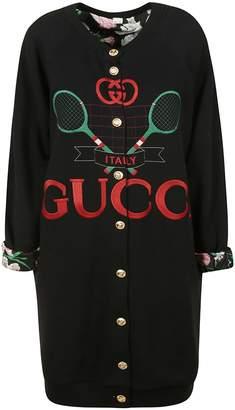 Gucci Printed Oversized Cardigan
