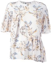 Stella McCartney floral print top - women - Silk - 48