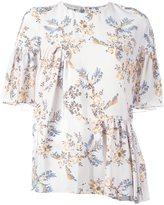 Stella McCartney floral print top - women - Silk - 48