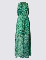 Marks and Spencer Leopard Print Maxi Dress