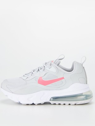 Nike Air Max 270 React Junior Trainers - Pink/Grey