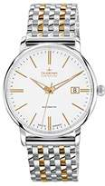 Dugena Men's Premium Automatic Watch with Automatic Dial Analogue Display and Multi-Colour Stainless Steel Bracelet