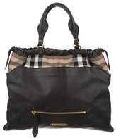 Burberry House Check Big Crush Tote