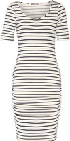 Tart Collections Jasmin cutout striped modal-blend dress