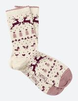 Fat Face One Pack Fairisle Socks