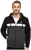 U.S. Polo Assn. Color Block Fleece Hoodie