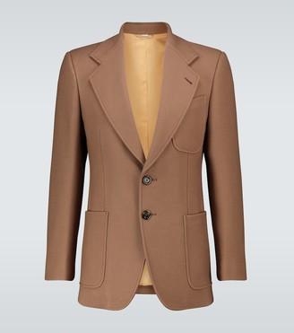Gucci Single-breasted wool blazer